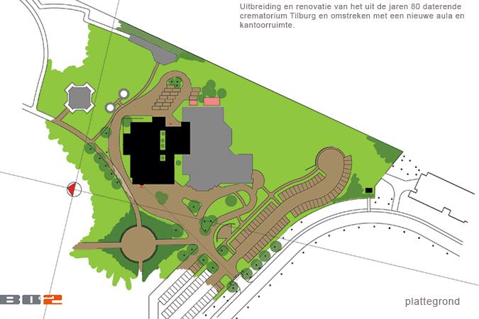 7d1ab109688 Crematorium Tilburg | Van Gendt Architect